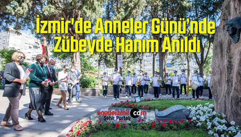 İzmir'de Anneler Günü'nde Zübeyde Hanım Anıldı