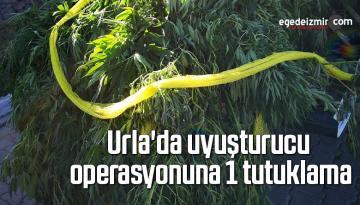 Urla'da uyuşturucu operasyonuna 1 tutuklama