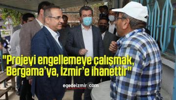 AK Parti İzmir İl Başkanından İzmir Büyükşehir Belediyesine Sert Tepki