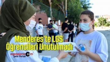 Menderes'te LGS Öğrencileri Unutulmadı