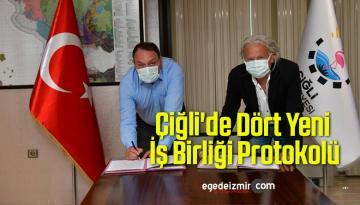 Çiğli'de Dört Yeni İş Birliği Protokolü
