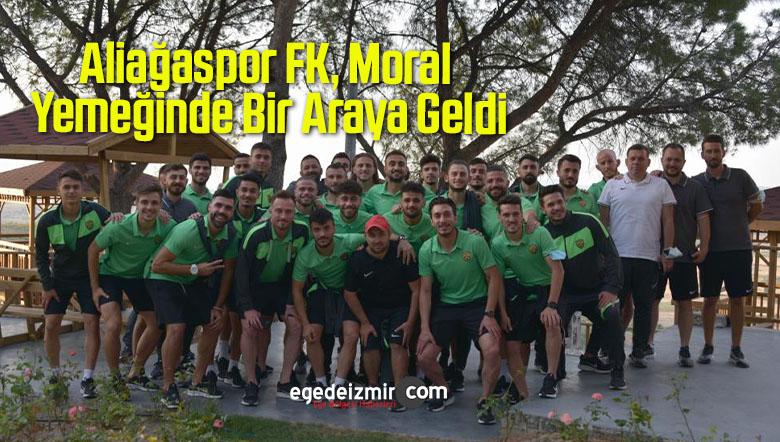 Aliağaspor FK, Moral Yemeğinde Bir Araya Geldi