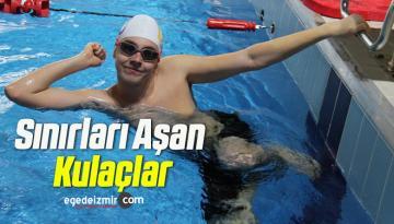 Otizmli Yüzücü Artun'un Hedefi Paralimpik Oyunları