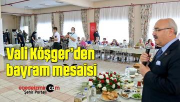 Vali Köşger'den bayram mesaisi