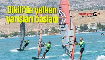 Dikili'de yelken yarışları başladı