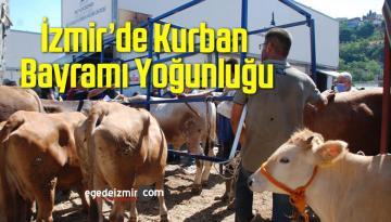 İzmir'de Kurban Bayramı Yoğunluğu