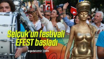 Selçuk'un festivali EFEST başladı