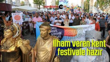 İlham veren kent festivale hazır