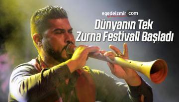 Dünyanın Tek Zurna Festivali Başladı