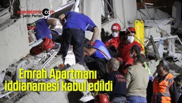 Emrah Apartmanı iddianamesi kabul edildi