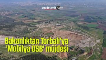 Bakanlıktan Torbalı'ya 'Mobilya OSB' müjdesi