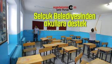 Selçuk Belediyesinden okullara destek