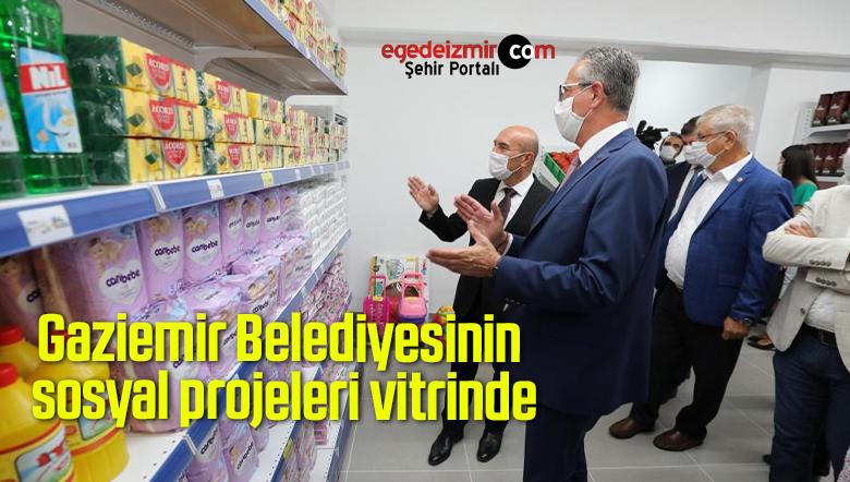 Gaziemir Belediyesinin sosyal projeleri vitrinde
